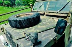 Old safari jeep Stock Photos