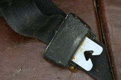 Old safety belt Stock Photography