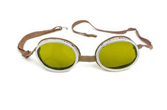 Old safety goggles Royalty Free Stock Photo