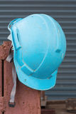 Old safety helmet Stock Images