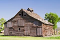 Old sagging barn Royalty Free Stock Image