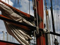 Old Sail Boat Stock Photography