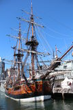 Old Sail Boat in Sydney Stock Photography