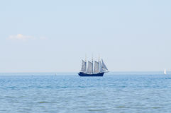 Old sail ship Stock Photo