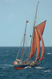 Old Sailboat Stock Photo