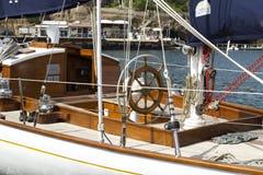 Old sailboat detail Royalty Free Stock Photos