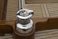 Old sailboat detail Stock Images
