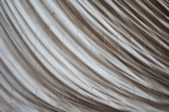 Old Sailcloth Background. From a historic sailing boat Royalty Free Stock Photos