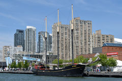 Old Sailing Boat,Toronto & Lake Ontario, Canada Royalty Free Stock Image