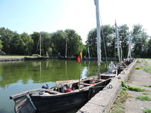 Old sailing boats, Lithuania Royalty Free Stock Photo