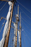 Old sailing ship Stock Photography