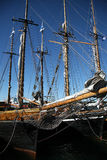 Old sailing ship Royalty Free Stock Image