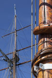 Old sailing ship - detail Royalty Free Stock Photo