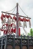Old sailing ship. Royalty Free Stock Photo