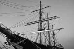 Old sailing vessel Stock Image