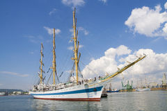 Old sailing vessel Royalty Free Stock Images