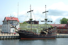 Old sailing vessel Royalty Free Stock Image