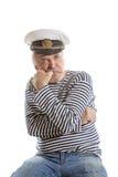 Old sailor man Royalty Free Stock Photos