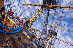 Old sailship Royalty Free Stock Images