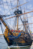 Old sailship Stock Image