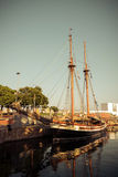 Old sailship Royalty Free Stock Photo