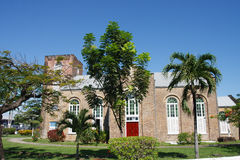 Old Anglican Church in Belize. Old Saint Johns Church Anglican near Belize City, in Belize Stock Photography