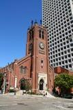 Old saint Mary's cathedral, san francisco. Royalty Free Stock Photo