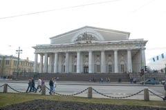 Old Saint Petersburg Stock Exchange Stock Photos