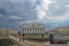 Old Saint Petersburg Stock Exchange Stock Photo