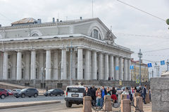 Old Saint Petersburg Stock Exchange Royalty Free Stock Photos