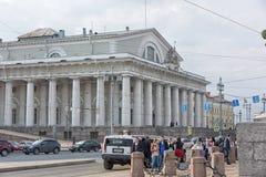Old Saint Petersburg Stock Exchange Royalty Free Stock Photos