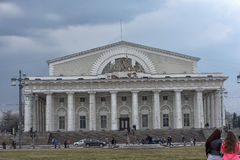 Old Saint Petersburg Stock Exchange Royalty Free Stock Photo