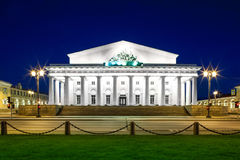 Old Saint Petersburg Stock Exchange Stock Photography