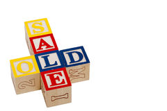 Old Sale Royalty Free Stock Photo
