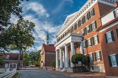 Old Salem College Stock Photography