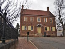 Old Salem Museum & Gardens stock image