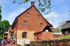 Old Salem, NC: 1800 C. Winkler Bakery Stock Images