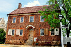 Old Salem, NC: The Doctor's House Royalty Free Stock Photo