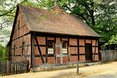 Old Salem, NC: 1768 Moravian Fifth House Royalty Free Stock Images