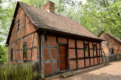 Old Salem, NC: 1767 Moravian Third House Royalty Free Stock Photo
