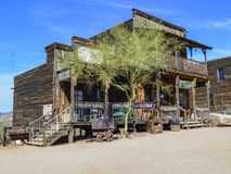 An old saloon  in Goldfield Ghost Royalty Free Stock Photography