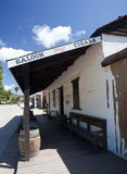 Old saloon in San Diego Stock Image