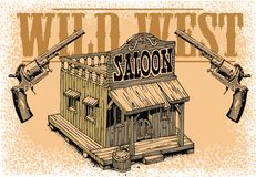 Old saloon Royalty Free Stock Image