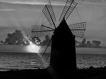 This is an old Saltmill in Sicily in the area of Erice.