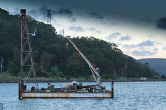 Old salvage ship Royalty Free Stock Photography