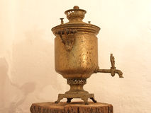 Old samovar. Stock Photo