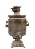Old samovar. Royalty Free Stock Images