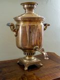 Old samovar Royalty Free Stock Images