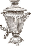 Old samovar Stock Photography