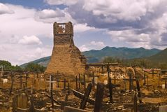 Old San Geronimo Church Ruins Stock Photos